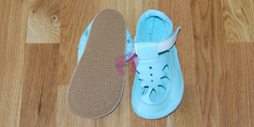 Baby Bare Shoes IO Acqua - Summer Perforation