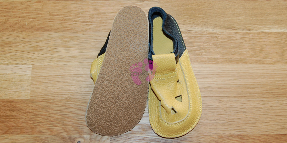 Baby Bare Shoes Ananas Top Stitch, podrážka