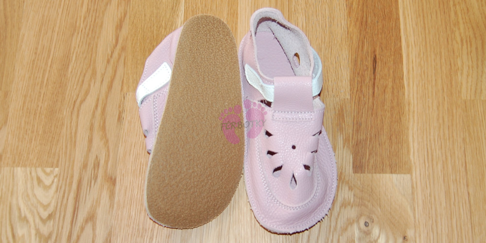 Baby Bare Shoes Candy Top Stitch, podrážka