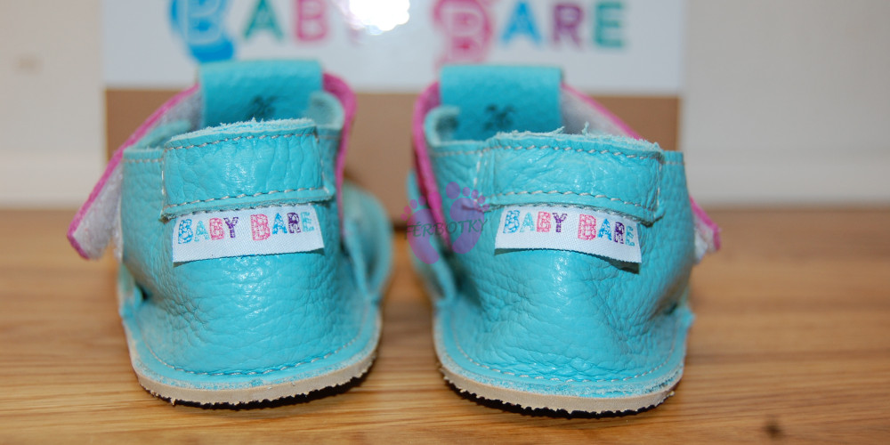Baby Bare Shoes Flower Top Stitch opatek