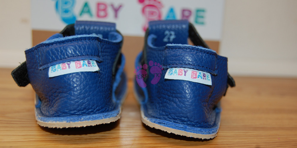 Baby Bare Shoes Submarine Top Stitch opatek