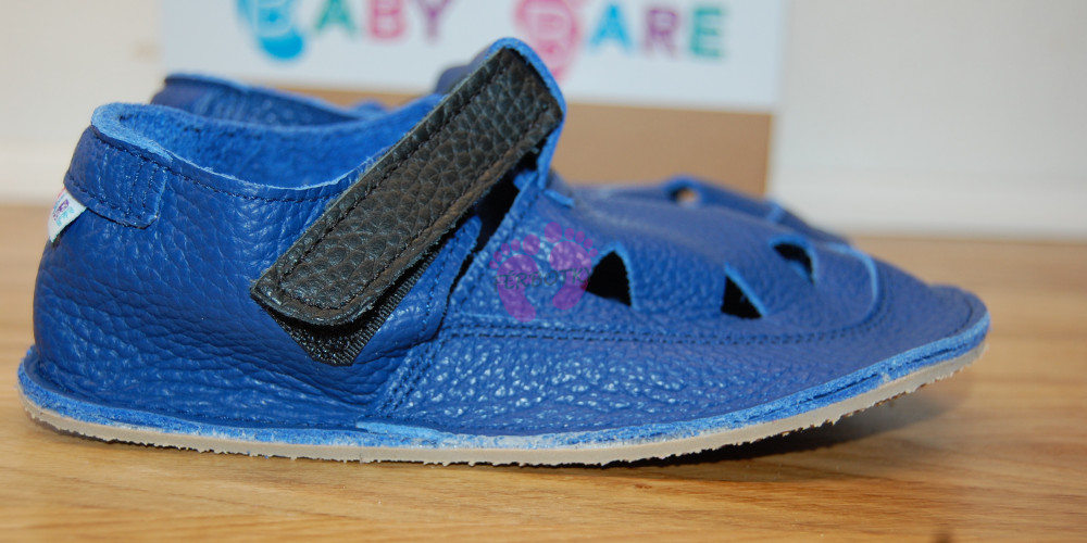 Baby Bare Shoes Submarine Top Stitch ze strany