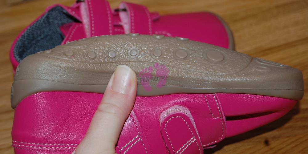 66cb14db6c2 Beda barefoot růžové celoroční Janette s membránou ohenost