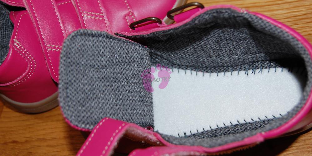 Beda barefoot růžové celoroční Janette s membránou vnitřek boty a4b5358f0c