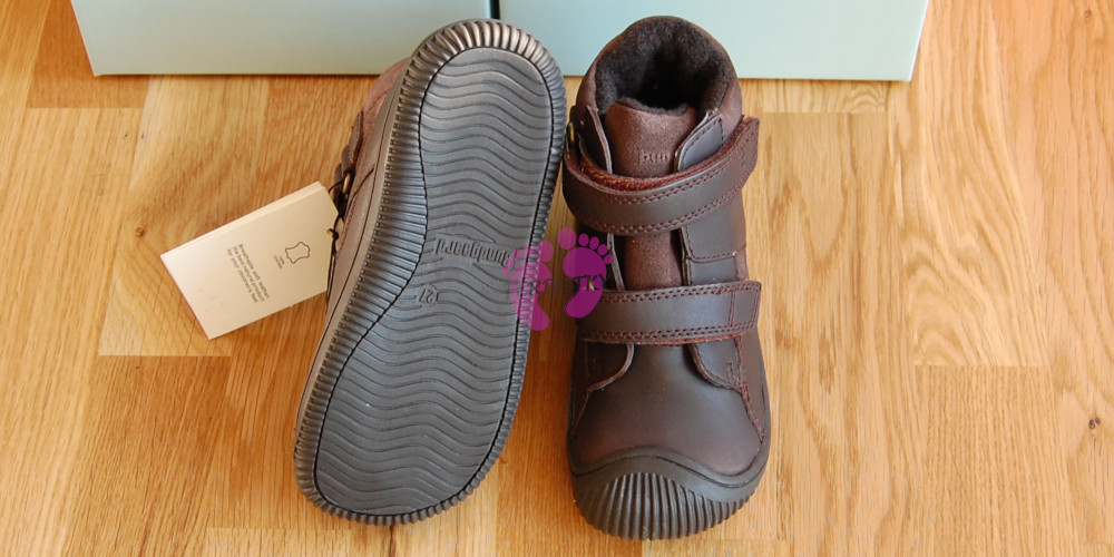 Bundgaard Walk Tex Dark Brown, podrážka
