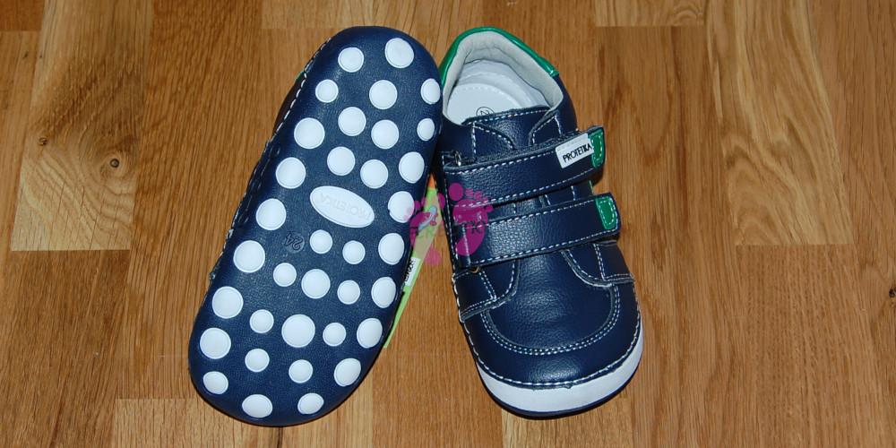 7bf7c8af6e52 Dětské barefoot boty Protetika Levis Green