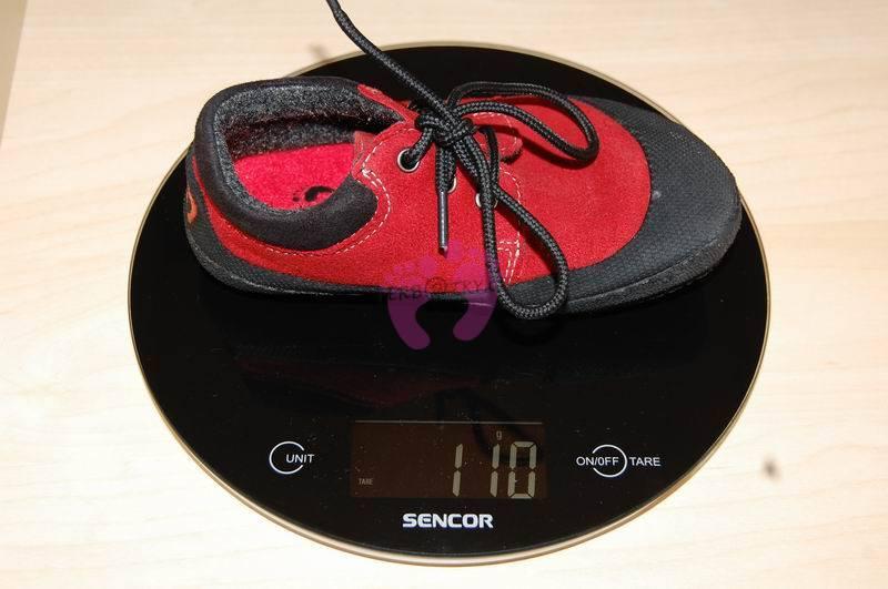 Hmotnost boty Sole Runner PAN velikost 26.