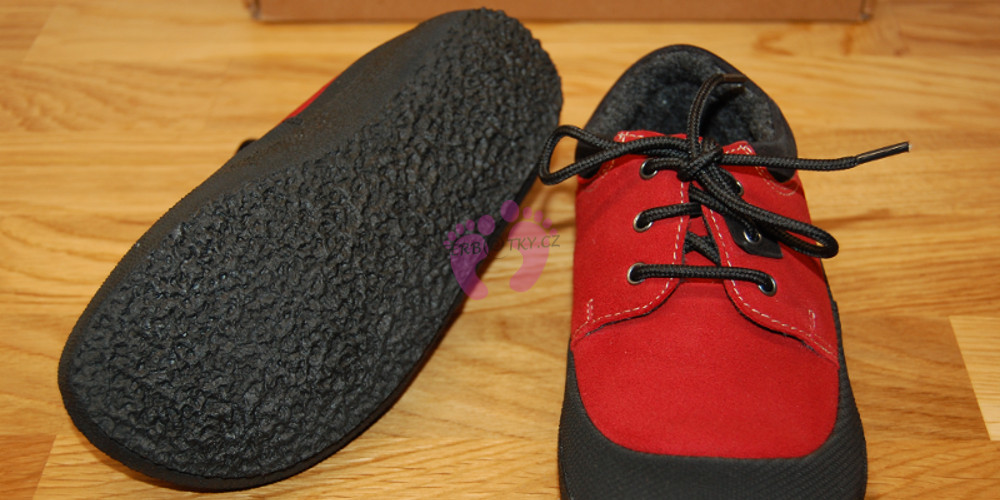 Podrážka Sole Runner PAN Red/Black