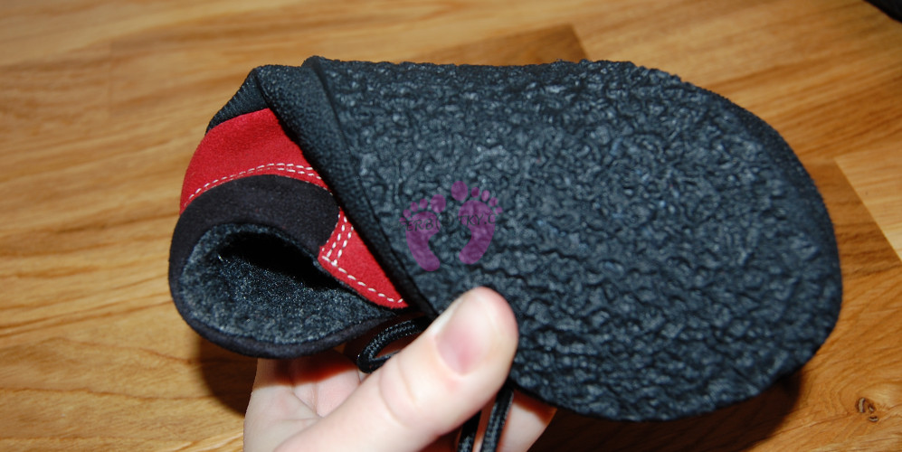Ohebnost Sole Runner PAN Red/Black