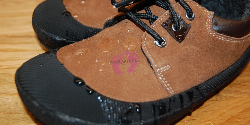 Voděodpudivý materiál Sole Runner PAN Brown/Black