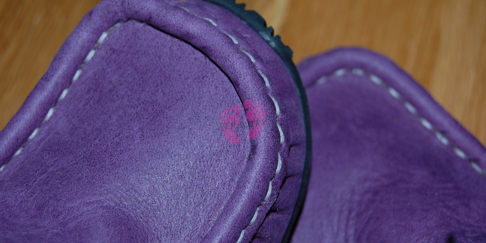 ZeaZoo YETI Purple with fuchsia, detail